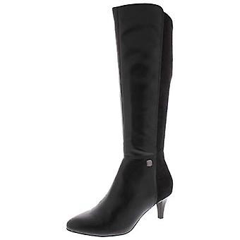 Alfani Womens Hakuu Suede Pointed Toe Knee-High Boots