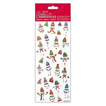 Docrafts ملصقات عيد الميلاد - الثلج