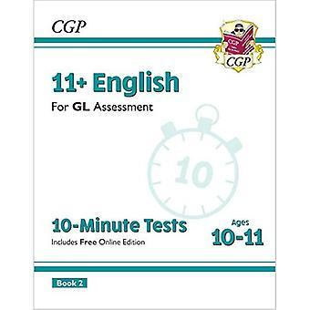 Nye 11 + GL 10-minutters tests: engelsk-Ages 10-11 Book 2 (med online udgave)
