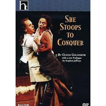 She Stoops to Conquer-Goldsmith/National Theatre [DVD] USA import