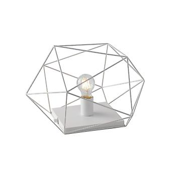 Fan Europe Abraxas - Globe Cage Table Lamp, Branco, E27