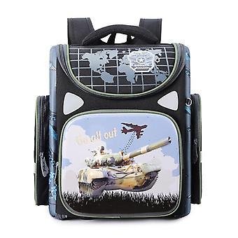 Orthopädische Rucksack für Rennwagen Satchel Schule Taschen, primäre Buch Tasche Kinder