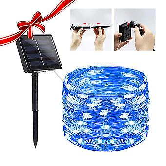 Solar Powered String Lights Indoor Outdoor Waterproof For Gardens Home