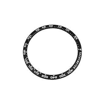 Keramická rámová vložka, pánské hodinky, hodinky nahrazují příslušenství, vložky bezelu