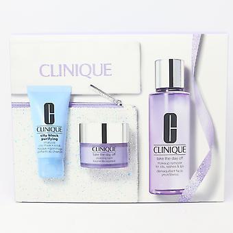 Clinique Cleansing By Clinique 5-Szts Set / Nowy z pudełkiem