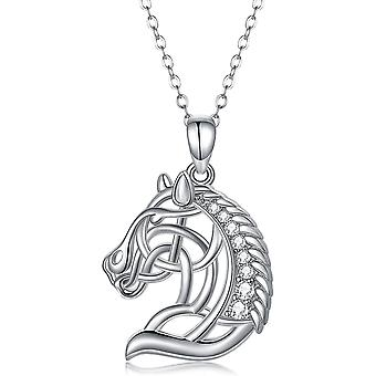 Horse Head Pendant 925 Sterling Silver Horse Necklaces Horse gifts