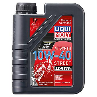Liqui Moly 4-Stroke Fully Synthetic Street Race Motorcycle Oil 10W-40 1 Litre