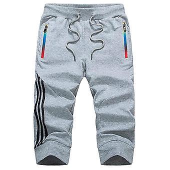 الصيف الرجال & apos;ق الملابس الرياضية Sweatpants السراويل الركض تنفس