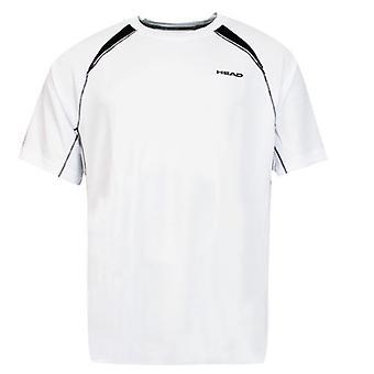 Head Club Miesten T-paita Pusero Lyhythihainen Tekninen Valkoinen 811665 A6B