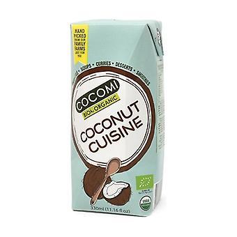 Organic Coconut Cream for Cooking 330 ml
