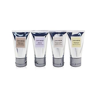 Hand cream quartet set: fresh fig + almond coconut + ambre vanille + creme brulee hand cream  258300 4x30g/1oz