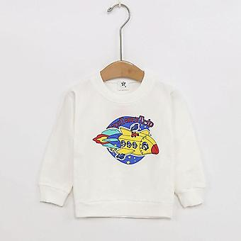 Kids,,, Round Neck Bottoming Clothes, Pure Cotton, Toddler