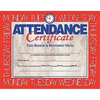 "Attendance Certificate, 8.5"" X 11"", Pack Of 30 H-Va580"