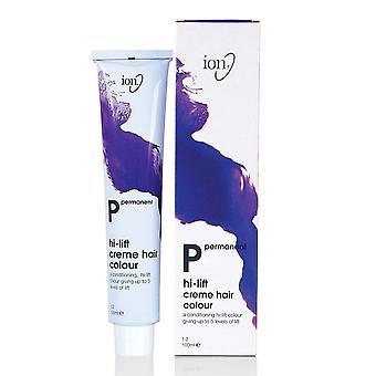 Ion Hi-Lift Permanent Hair Colour - 11.2 Ultra Light Iridescent Blonde