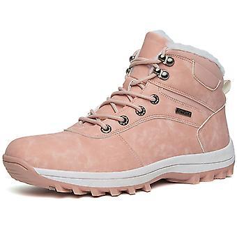 Bottes de neige doublées de fourrure femme 957 rose
