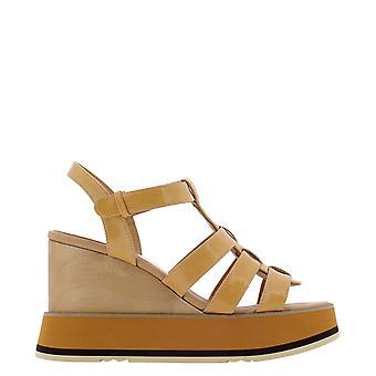 Paloma Barceló Jutailorypaff Women's Beige Suede Sandals
