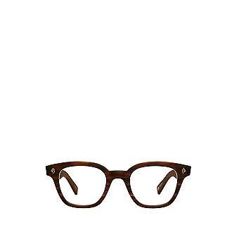Garrett Leight NAPLES matte brandy tort male eyeglasses