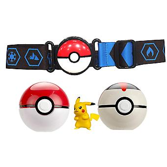 Pokemon, Clip n Go Belt set-red