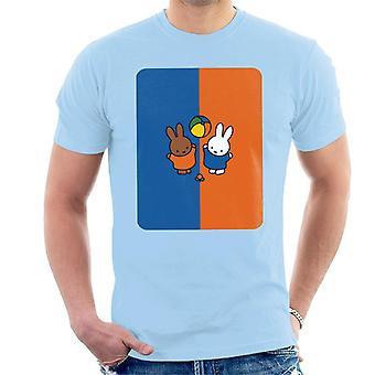 Miffy And Melanie Men's T-Shirt