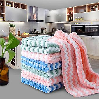 Kitchen Towel Plush Microfiber Cleaning Cloths Better Than Cotton Kitchen