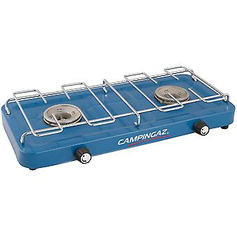 Campingaz Base Camp, Double Burner, Portable Camping Gas Stove - Blue