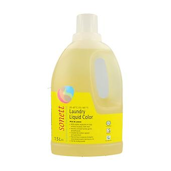 Color liquid detergent 1,5 L (Lemon - Mint)