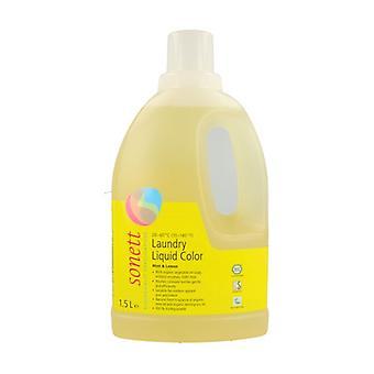 Farve flydende vaskemiddel 1,5 L (Citron - Mynte)