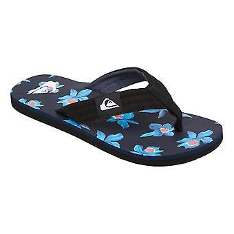 Quiksilver Molokai Layback Sandals - Black / Blue / White