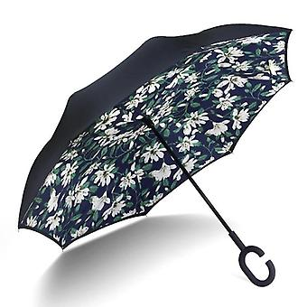 Reverse Rain, Double-layer, Parasol Windproof, Inverted Umbrellas Men