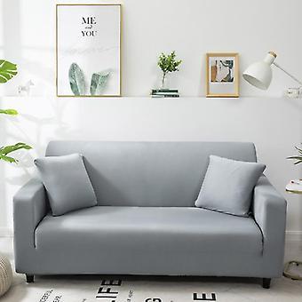 Fundas de sofá de color sólido para sala de estar