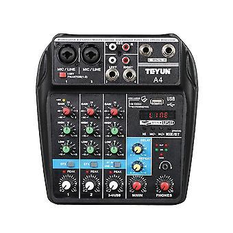 Audio Mixer Tragbare Rand-Mischpult USB
