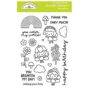 Doodlebug Design Fairy Garden Doodle -leimat