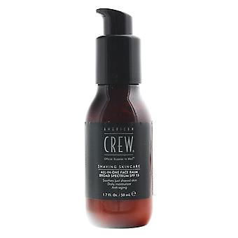 American Crew All-In-One Face Balm 50ml SPF 15