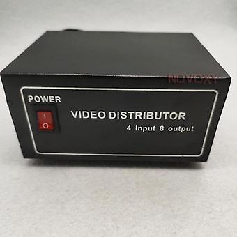 Composite Bnc Video Distributor For Cctv Security Camera Dvr System