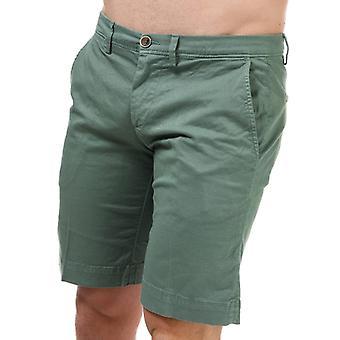Men's Henri Lloyd Chino Shorts in Green