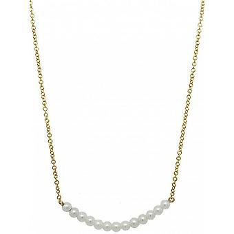 Mark Milton Kultur Pärla Birthstone Halsband - Pärla/Guld