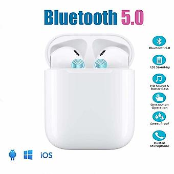 Wireless Earphones Bluetooth Headsets With Noise Canceling Stereo Audio Headsets In-Ear Headphones Sports Earphones Compatible with ios 11/11 PRO / XS / XR / X / 8/7/6 / 6s plus Android