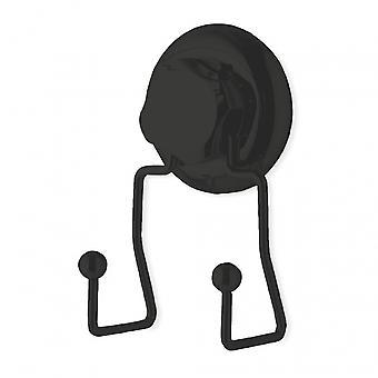 wall hook Bestlock13.5 cm stainless steel black