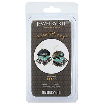 The Beadsmith Jewelry Kit, Desert Evening Earrings, 1 Kit