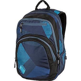 Nitro Snowboards Rucksack STASH, Unisex Backpack, Blue (Fragments Azul), 49 Centimeters