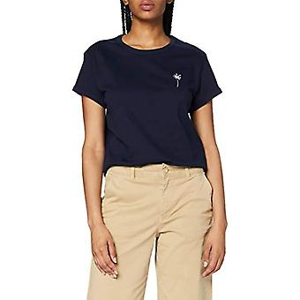 Marc O'Polo Denim 45244151577 T-Shirt, Blue (Scandinavian Blue 834), Small Woman