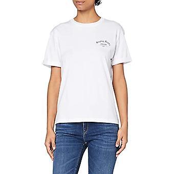 リプレイ W3232F Tシャツ, 001 オプティカル ホワイト, S 女性