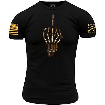 Grunt Style Bullet Bird T-shirt - Sort