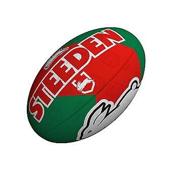Steeden NRL South Sydney Rabbitohs Supporter 2021 Rugby League Bal Groen/Rood