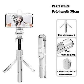 Με ελαφρύ 70cm λευκό επεκτάσιμο selfie stickwireless τηλεχειριστήριο και στάση τρίποδων x7506