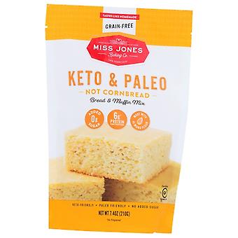 Miss Jones Baking Co Mix Not Crnbrd Brd Muffin, Case of 6 X 7.4 Oz