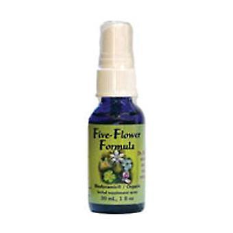 Flower Essence Services Five-Flower Formula, Spray 1 oz