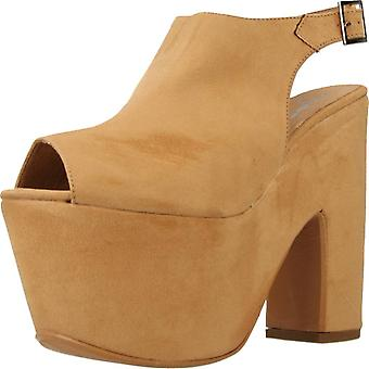Gele sandalen Fiesta verslaving kleur Camel