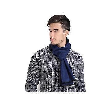 Winter sjaal Premium kasjmier gevoel unieke design selectie (BLAUW)