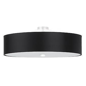 Sollux SKALA SL.0762 Cylindryczny kolor jasny czarny 50cm E27
